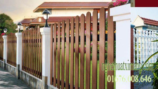 Hàng rào bê tông giá rẻ