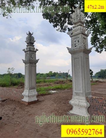 Cột Đồng Trụ Xi Măng Đẹp Nhất