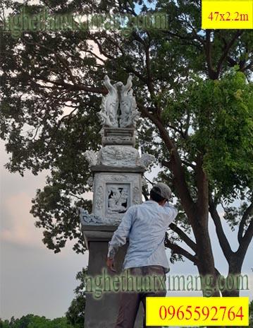 Mẫu Cột Đồng Trụ Cho Từ Đường