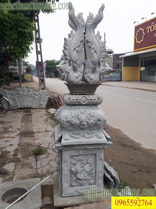 Cột đồng trụ cho đình chùa