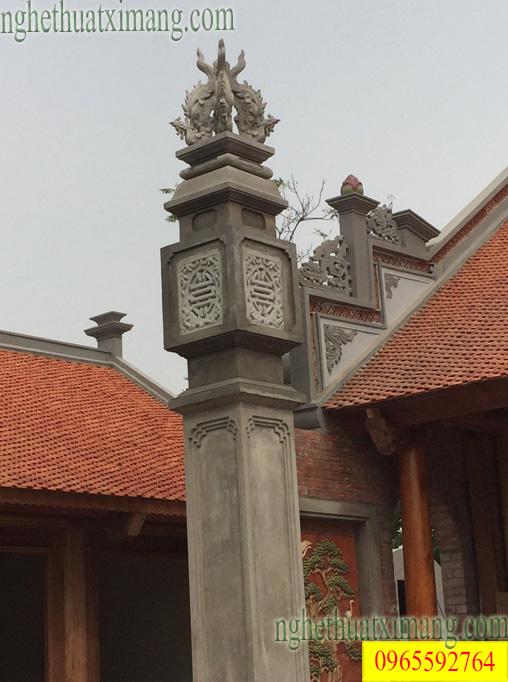 Cột đồng trụ nhà thờ họ