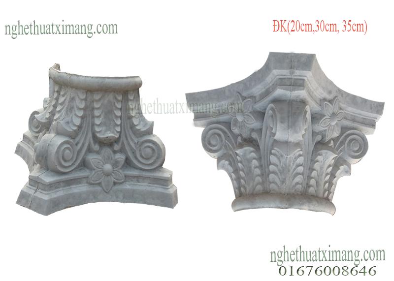 Đấu cột trang trí cổ điển
