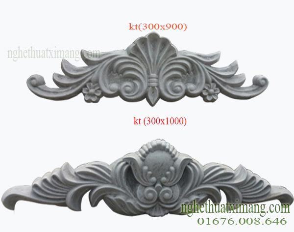 Hoa văn trang trí mặt tiền nhà tân cổ điển