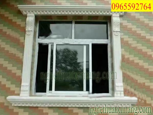 Khung cửa sổ xi măng