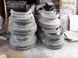 Chân cột xi măng đường kính 30 cm, 40cm,50cm