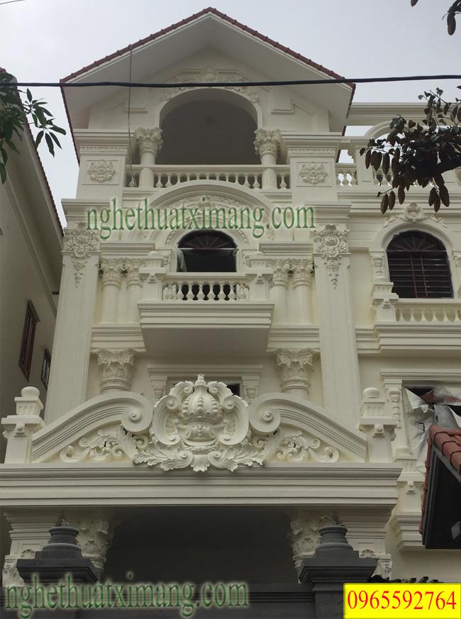 Mẫu nhà biệt thự tân cổ điển đẹp nhất