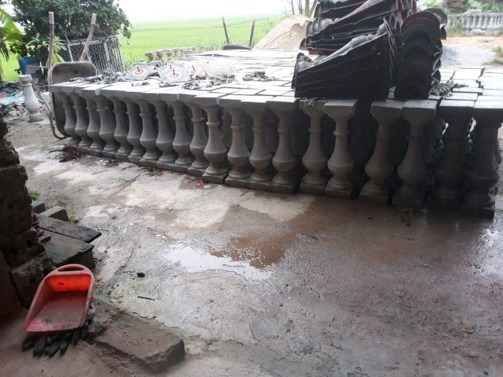 xưởng sản xuất con tiện bê tông
